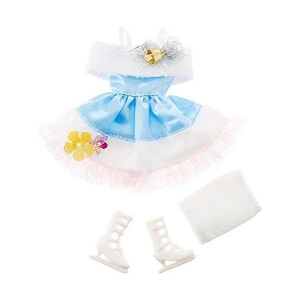 画像1: リカちゃんの着せ替えお洋服『ふわふわスケート』※リカちゃんドール本体は入っていません※ (1)