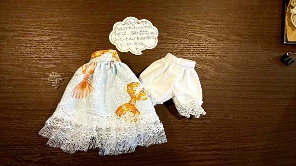 画像1: 【コロナに負けるな特価】あま茶まる様 制作 『 ふんわりギャザースカートとドロワーズセット 』 ネオブライス size (1)